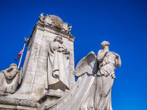 Columbus Memorial Fountain, Union Station, Washing Royalty Free Stock Photography