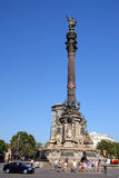 Columbus monument Royalty Free Stock Photos