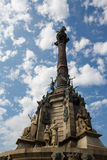 Columbus Monument Royaltyfri Foto