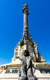 The Columbus Monument in Barcelona Royalty Free Stock Photography