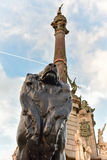 Columbus Monument - Barcelona, Spain Stock Image