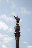 Columbus Monument in Barcelona Stock Photos
