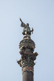 Columbus Monument in Barcelona Royalty Free Stock Image