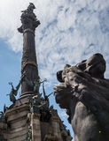 Columbus Monument Royalty Free Stock Image