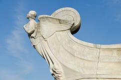 Columbus monument fragment stock images