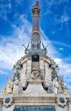 The Columbus Monument (Mirador de Colom) in Barcelona Stock Image