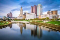Columbus, Ohio, de V.S. stock afbeelding