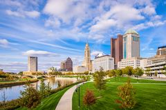 Columbus, Ohio, de V.S. royalty-vrije stock afbeelding