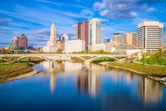 Columbus, Ohio, de V.S. royalty-vrije stock afbeeldingen