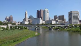Columbus Ohio Downtown Cityscape During the Day