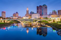 Columbus, Ohio, Etats-Unis photographie stock