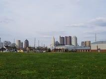 Columbus Ohio-horizon de van de binnenstad royalty-vrije stock afbeelding