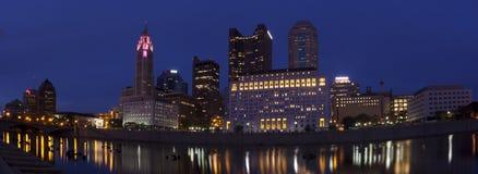 Columbus Ohio (panorámico) Foto de archivo