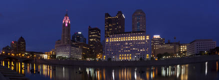 Columbus Ohio (panoramic) Stock Photo