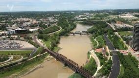 Columbus Ohio River Bridge stock image