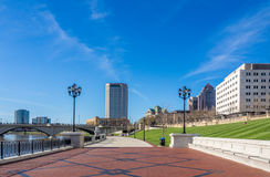 Columbus Ohio Skyline Photo libre de droits