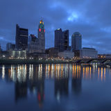 Columbus, Ohio skyline Stock Photos