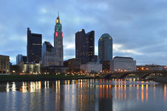 Columbus, Ohio skyline Royalty Free Stock Photo