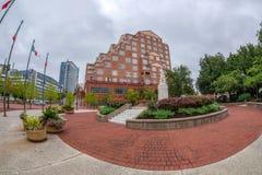 Columbus Park, Baltimore, EUA fotografia de stock