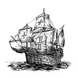 Columbus ship Royalty Free Stock Photography