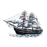 Columbus ship Royalty Free Stock Photos
