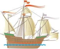 Columbus skepp Royaltyfria Bilder