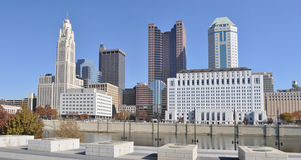 Columbus Skyline Royalty Free Stock Photo