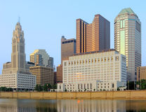 Columbus Skyline Stock Photo
