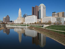 Columbus Skyline from the South Stock Photos