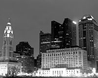 Columbus Skyline van de binnenstad Stock Afbeeldingen