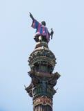 Columbus statue Royalty Free Stock Image