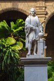Columbus Statue in Palacio De Los Capitanes, Havana Stock Photos