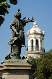 Columbus Statue at Parque Colon in Santo Domingo Stock Photography
