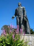 Columbus statue in San Francisco royalty free stock photos