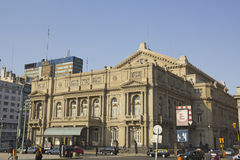 Columbus Theatre, Buenos Aires, Argentina. Royalty Free Stock Images