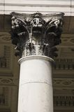 Column. Pillar close-up column Stock Images