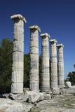 Column. In the ancient roman city of Stobi in the turkey Stock Photo