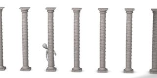 Column Stock Image