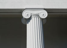 Column. Detail of column on historic building Charleston, SC royalty free stock photo