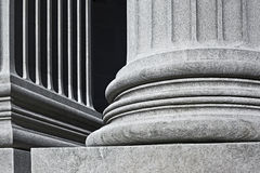Column architectural detail and symbolism Royalty Free Stock Photos