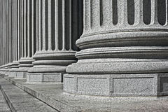 Column architectural detail and symbolism Stock Photos