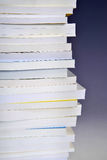 Column of books Stock Photography