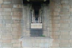 Column of bridge Royalty Free Stock Image