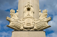 Column Bridge Charlottenburg. Stock Image