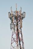 Column broadcast antenna Royalty Free Stock Photos
