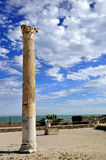 Column in Carthage Stock Photography