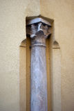 Column of the cathedral Royalty Free Stock Photography