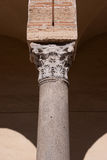 Column of the cathedral Stock Photos