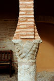 Column and chapiter in the National Theater Museum, Almagro, Spain Stock Images