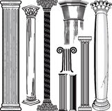 Column Collection Royalty Free Stock Photography